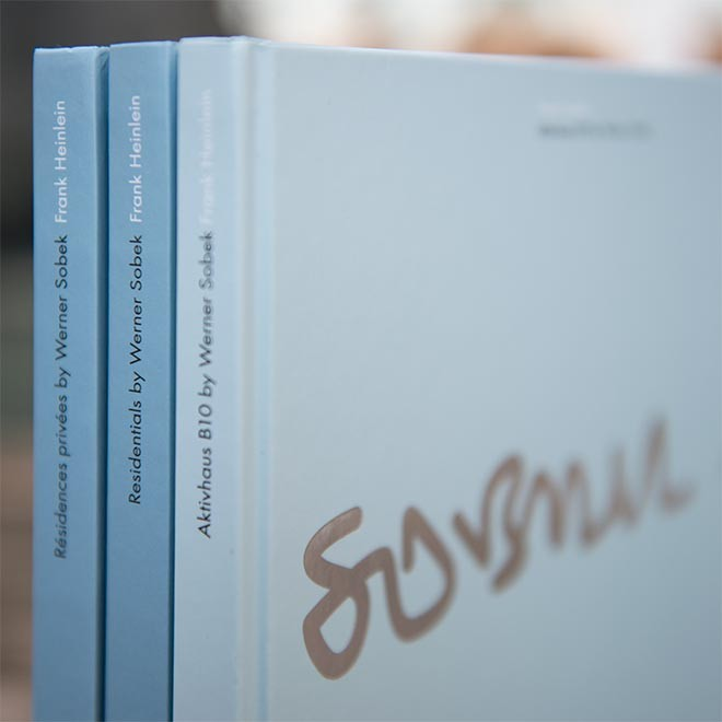 Buchgestaltung Werner Sobek